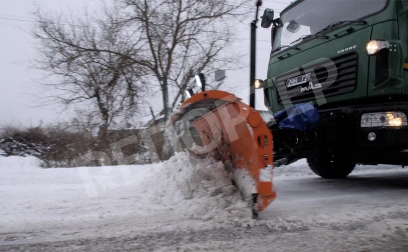 Днепровские друзья помогли мэру Новомосковска убрать снег