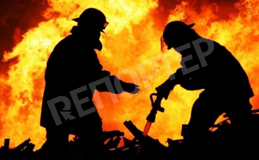 Пожилой Новомосковец сгинул в огне
