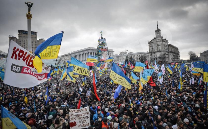 В Новомосковске почтили память Небесной Сотни проникновенным видео