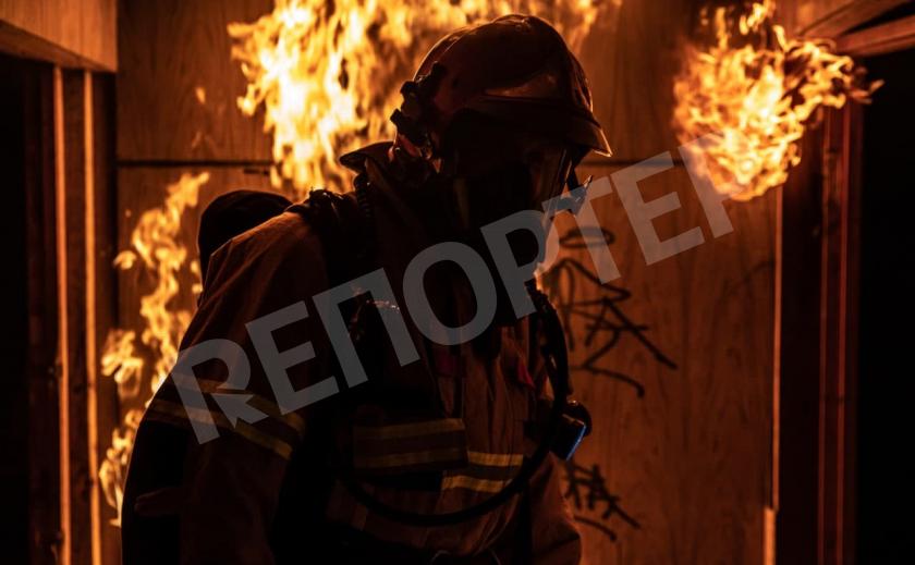 В Новомосковске на пожаре погиб пожилой мужчина