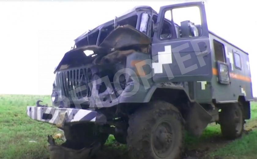 В АТО/ООС, в зоне ответственности «холоднояровцев» боевики обстреляли машину саперов
