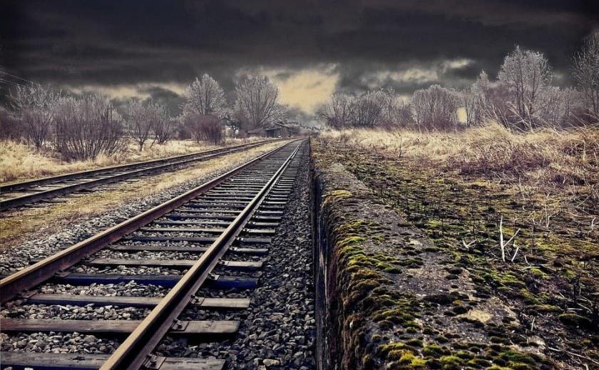 Жуткая находка: под Новомосковском у железной дороги обнаружили скелет неизвестного