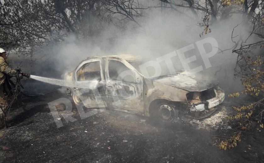 Под Новомосковском на пожаре трагически погиб пенсионер