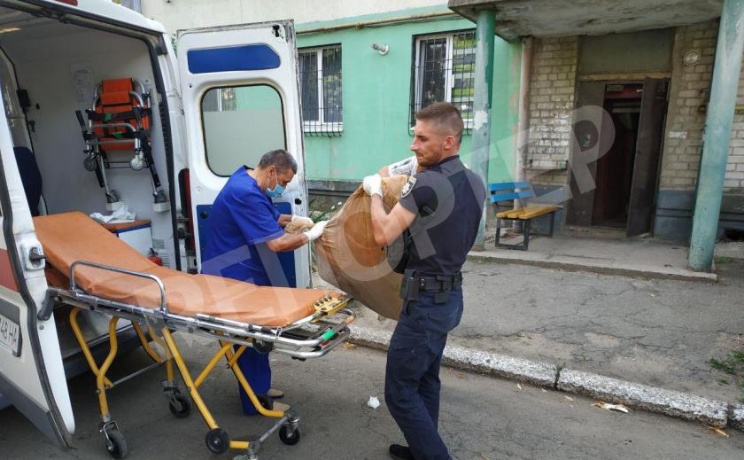Новомосковске копы спасли задыхавшегося от дыма земляка